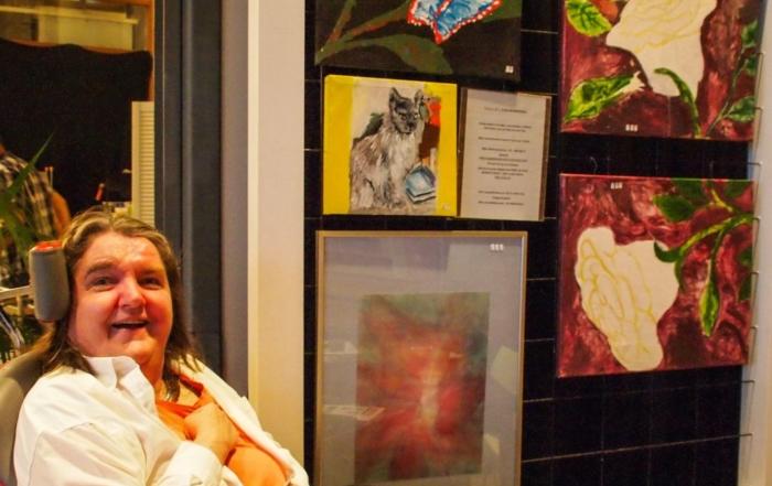 Opening expositie 'Diverse Werken' van Gea Bleijenberg
